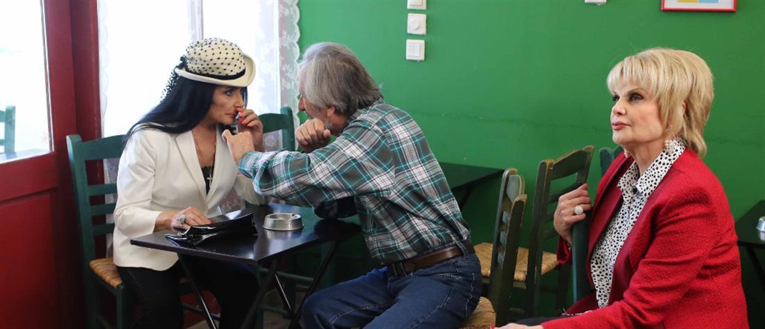 """""""Μην ψαρώνεις"""": η Ζωζώ Σαπουντζάκη φέρνει… ταραχές (εικόνες)"""