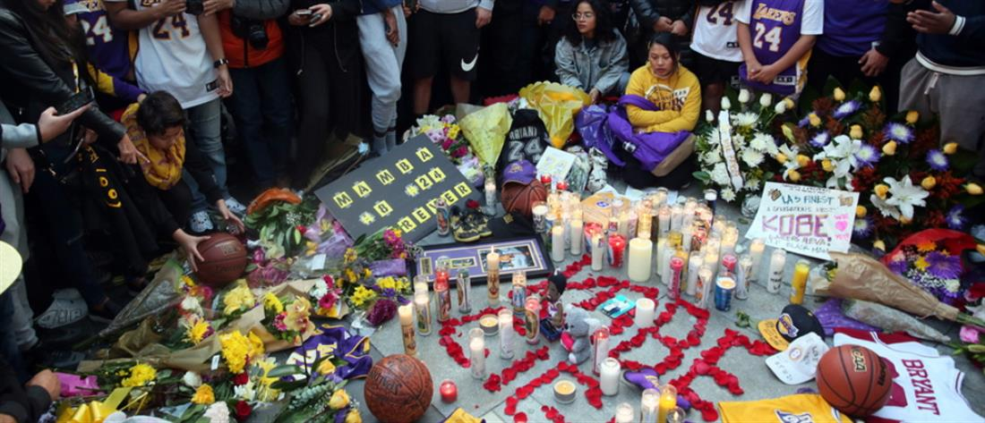 Κόμπι Μπράιαντ: παγκόσμια θλίψη για τον θάνατο του χαρισματικού αθλητή
