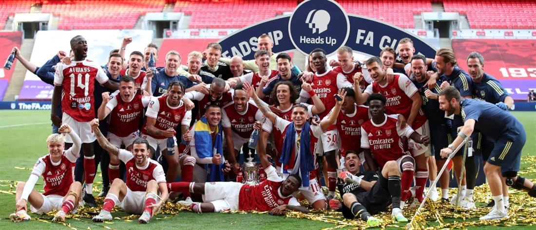 Κύπελλο Αγγλίας: Η Άρσεναλ σήκωσε την κούπα