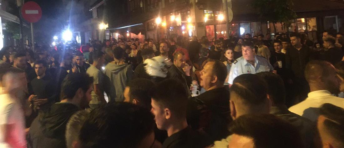 Θεσσαλονίκη: συμπλοκή έξω από take away μπαρ (εικόνες)