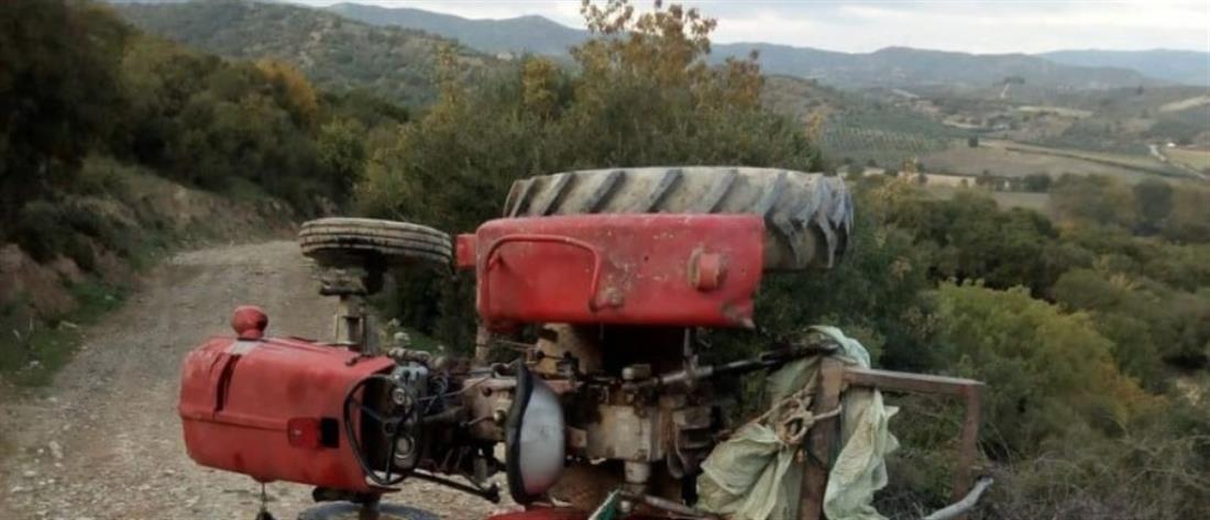 Δυστύχημα με τρακτέρ