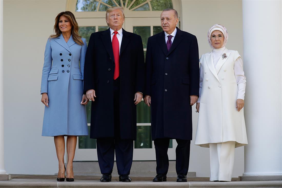 Τραμπ - Ερντογάν - συνάντηση