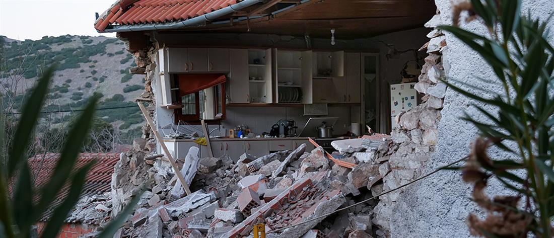Σεισμός - Δαμάσι - Λάρισα