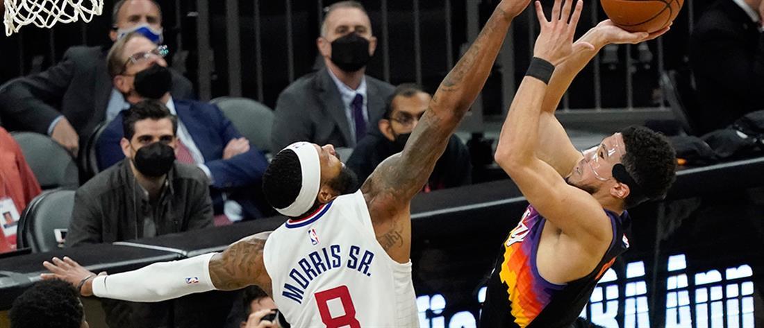 NBA play off: οι Κλίπερς έκαναν break μέσα στο Φοίνιξ