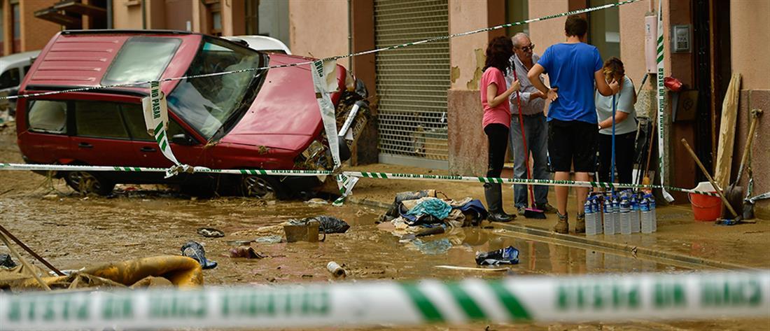 Φονικές πλημμύρες στην Ισπανία (βίντεο)