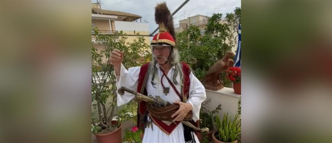 """Το αγωνιστικό μήνυμα του """"Κολοκοτρώνη"""" για τον κορονοϊό: δεν το κουνάμε ρούπι"""