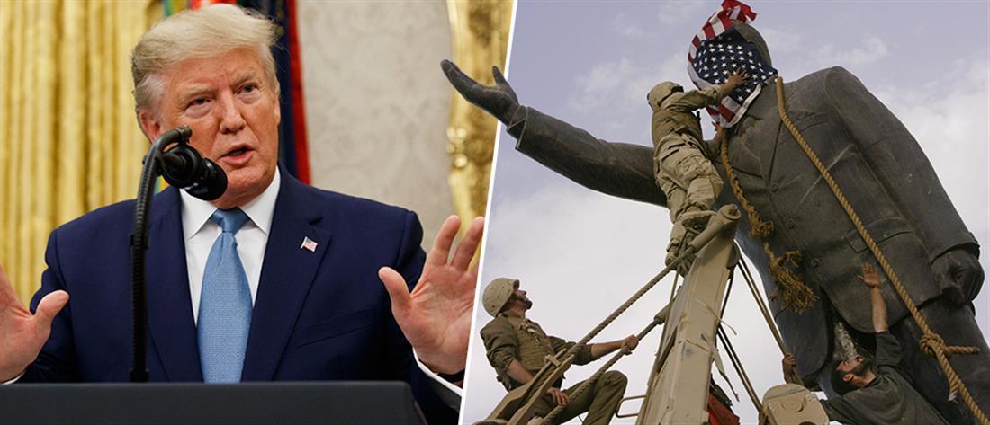 Τραμπ: η εμπλοκή στη Μέση Ανατολή ήταν η χειρότερη απόφαση στην ιστορία των ΗΠΑ