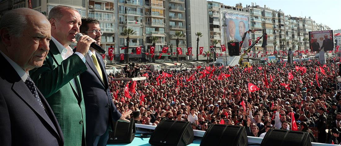 Ερντογάν: Ελλάδα και Κύπρος δοκιμάζουν την υπομονή μας…