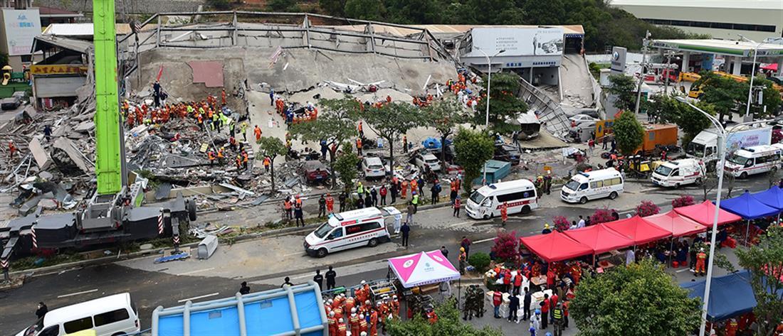 Αυξήθηκαν οι νεκροί από την κατάρρευση ξενοδοχείου στην Κίνα