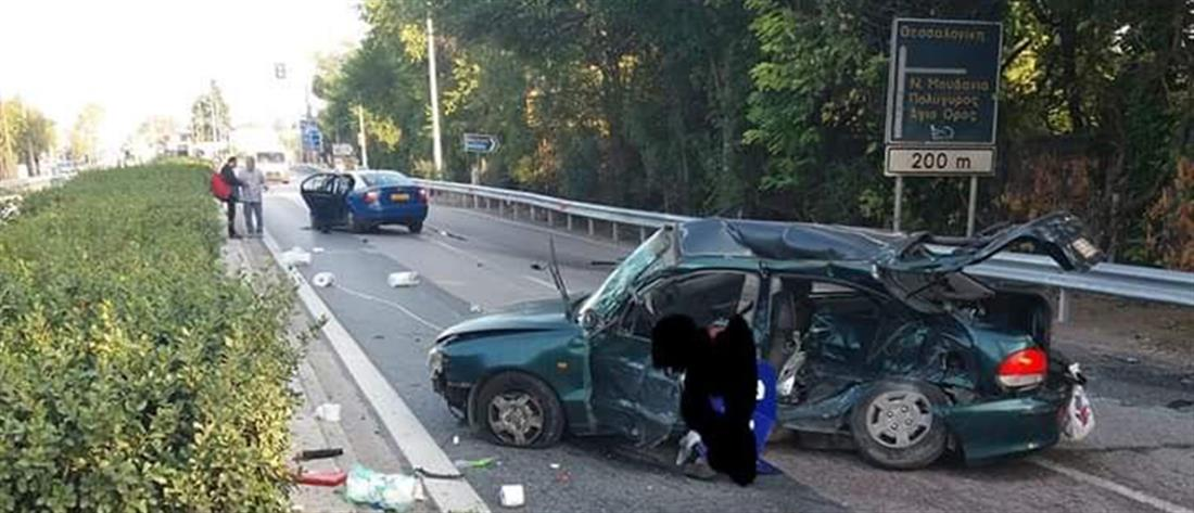 Νεκρή σε σύγκρουση με ταξί (εικόνες)