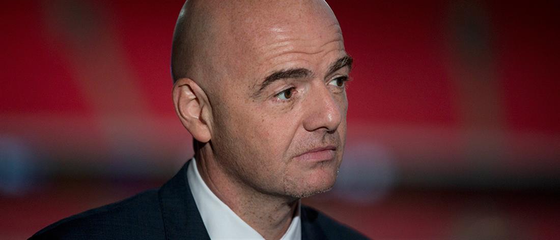 FIFA: Ποινική δίωξη κατά του Ινφαντίνο