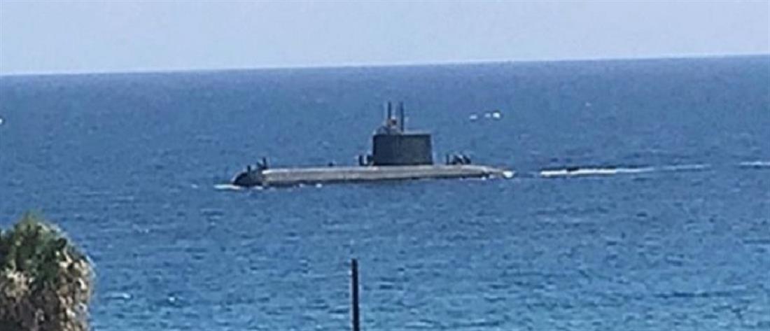 Μυστήριο με τουρκικό υποβρύχιο ανοιχτά της Κερύνειας