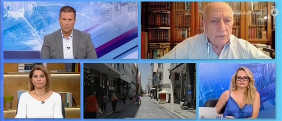 Ζερεφός για καύσωνα στον ΑΝΤ1: Ξηρασία και ερημοποίηση απειλούν το 40% της Ελλάδας (βίντεο)