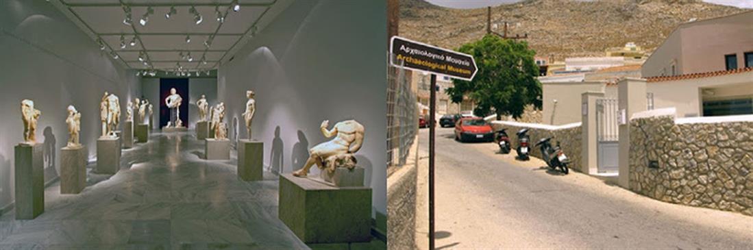 Έφιππος Ηγεμόνας - άγαλμα - Κάλυμνος