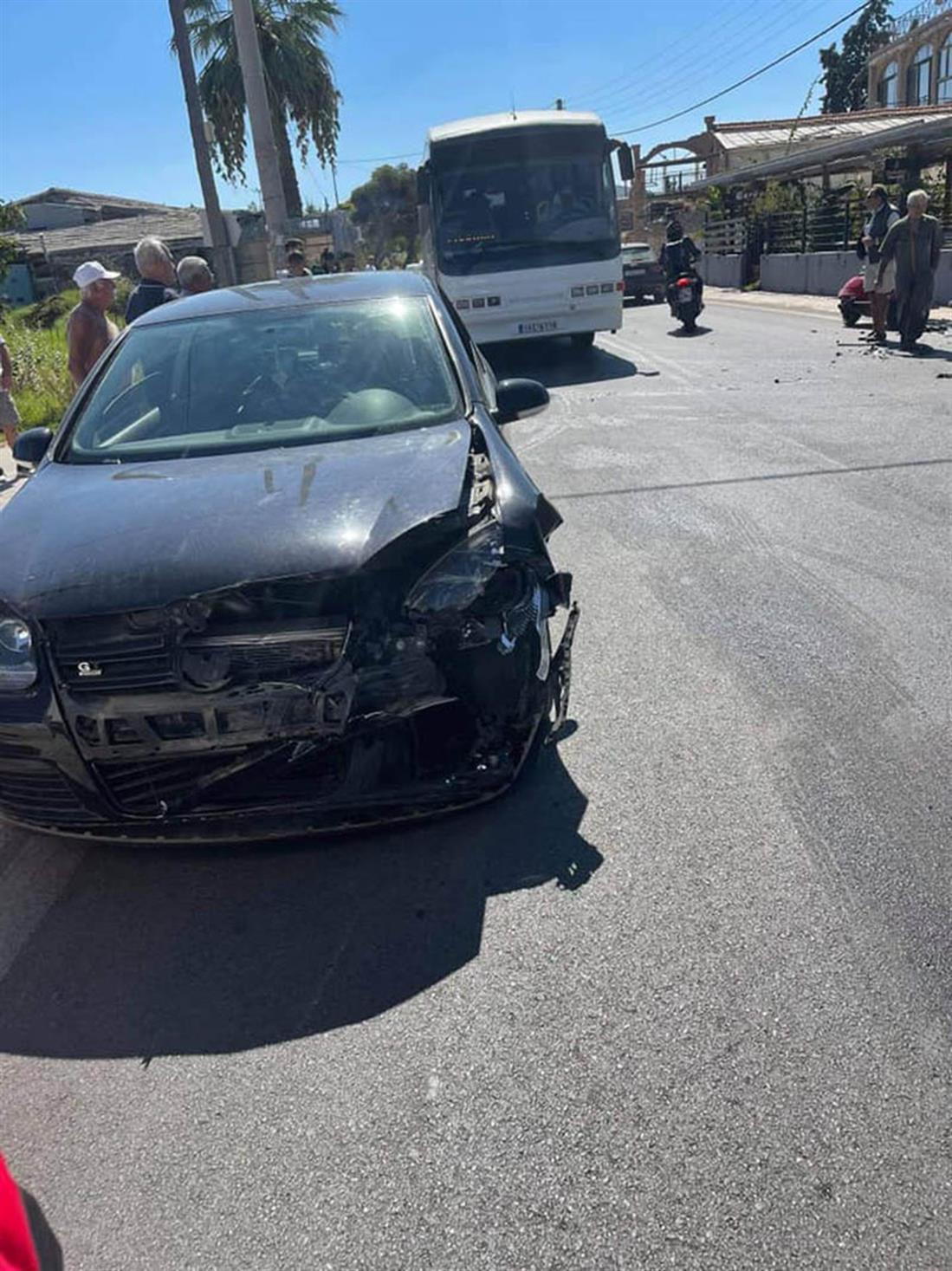 Λούτσα - Αρτέμιδα - Τροχαίο ατύχημα