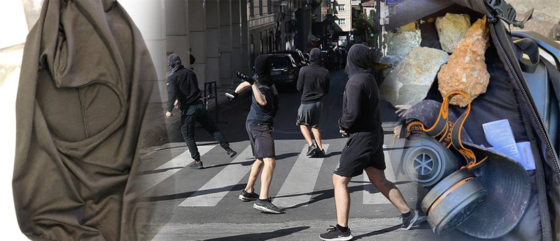Συλλήψεις για τα επεισόδια στο μαθητικό συλλαλητήριο (εικόνες)