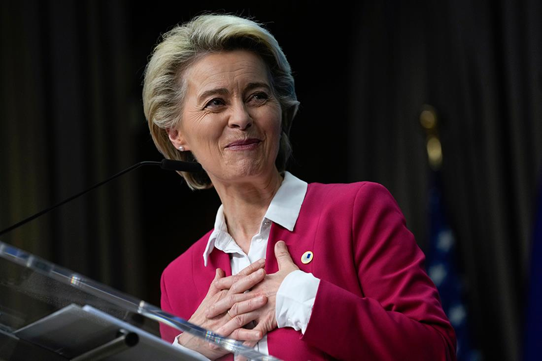 AP - Ούρσουλα φον ντερ Λάιεν - Βέλγιο
