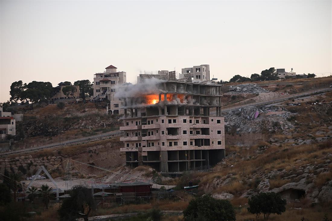 AP - Ισραήλ - σπίτια - εκρήξεις