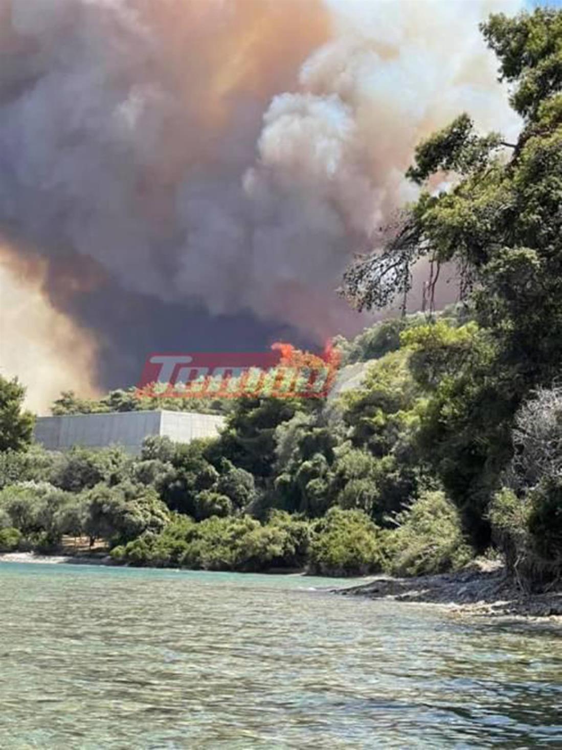 Πυρκαγιά - Αχαΐα