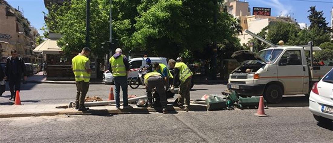 Πέθανε η μία τραυματίας του τροχαίου στην Πατησίων