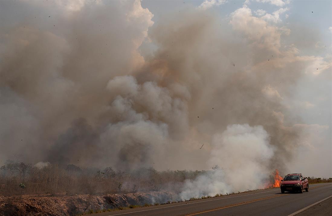 Αμαζόνιος - πυρκαγιά