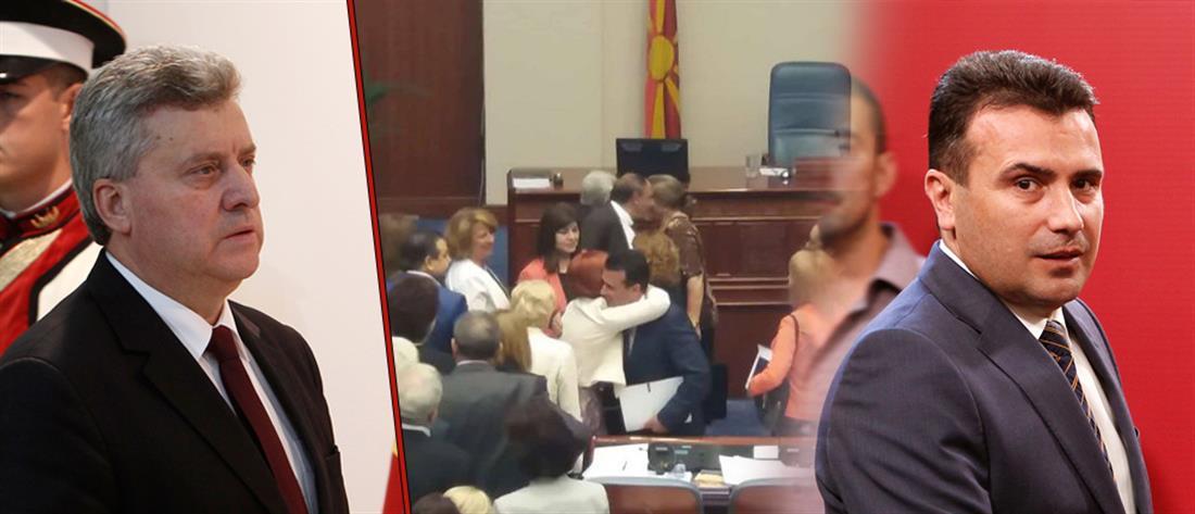 ΠΓΔΜ: ο Ζάεφ καλεί σε συμμετοχή και ο Ιβάνοφ σε μποϊκοτάζ για το δημοψήφισμα