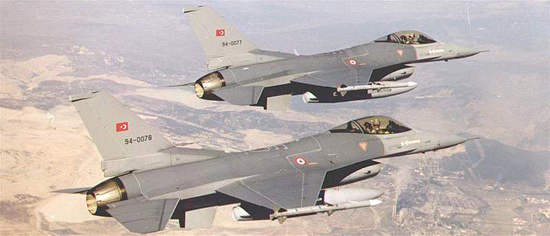 Έβρος: υπέρπτηση από τουρκικά μαχητικά σε χαμηλό ύψος