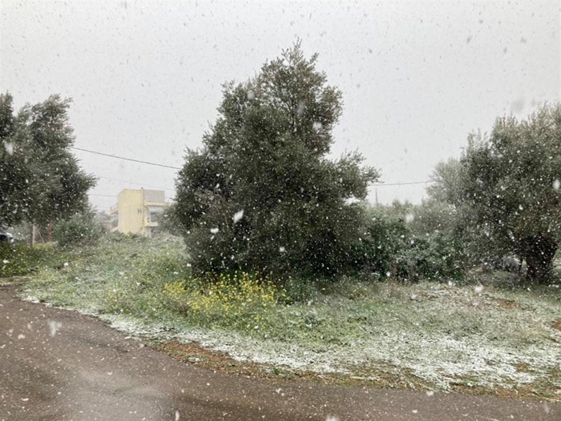 χιόνι - Χασιά