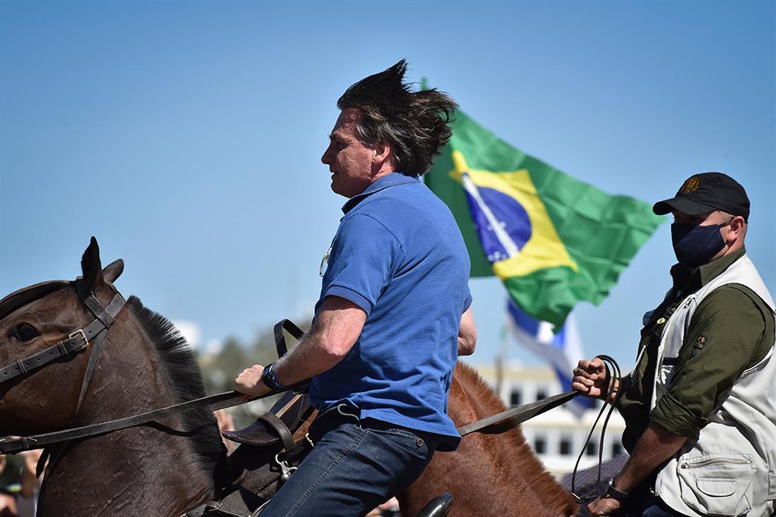 Βραζιλία - Διαδηλώσεις - Μπολσονάρο