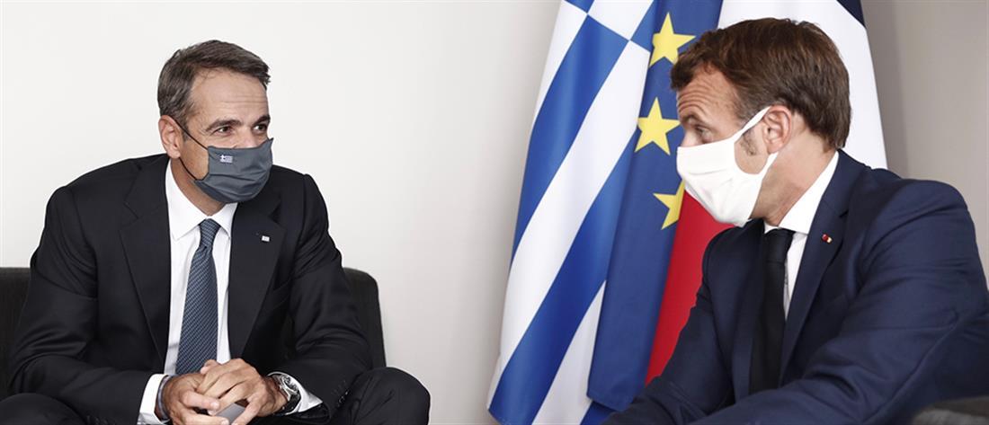Φωτιές: Ανάρτηση του Μακρόν στα ελληνικά
