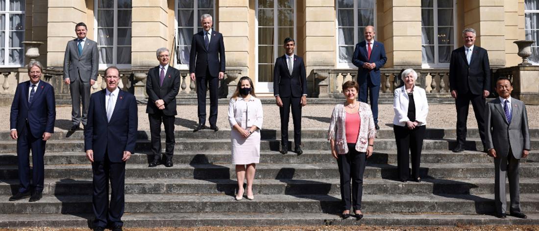 Ελάχιστος εταιρικός φόρος 15% - G7: Δέσμευση για επιβολή