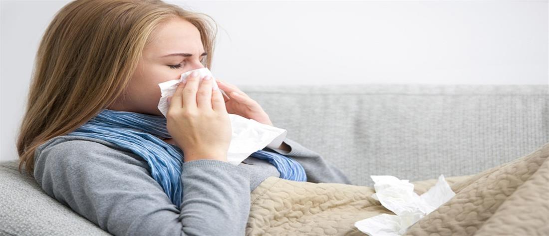 """""""Συναγερμός"""" για την εποχική γρίπη: Έξι ασθενείς σε ΜΕΘ την τελευταία εβδομάδα"""