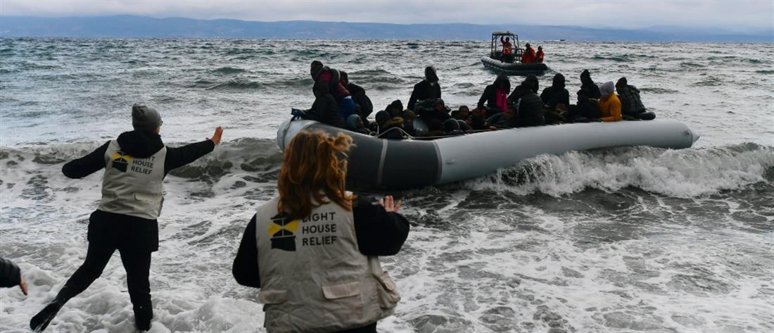 AP - Λέσβος- μετανάστες - πρόσφυγες