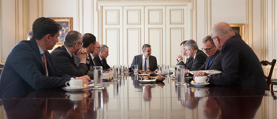 Μητσοτάκης και Ιταλοί συζήτησαν για συμπράξεις στην Ενέργεια