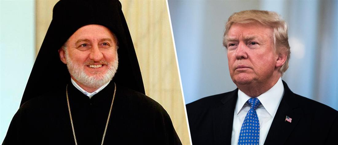 Συγχαρητήρια Τραμπ στον Αρχιεπίσκοπο Ελπιδοφόρο
