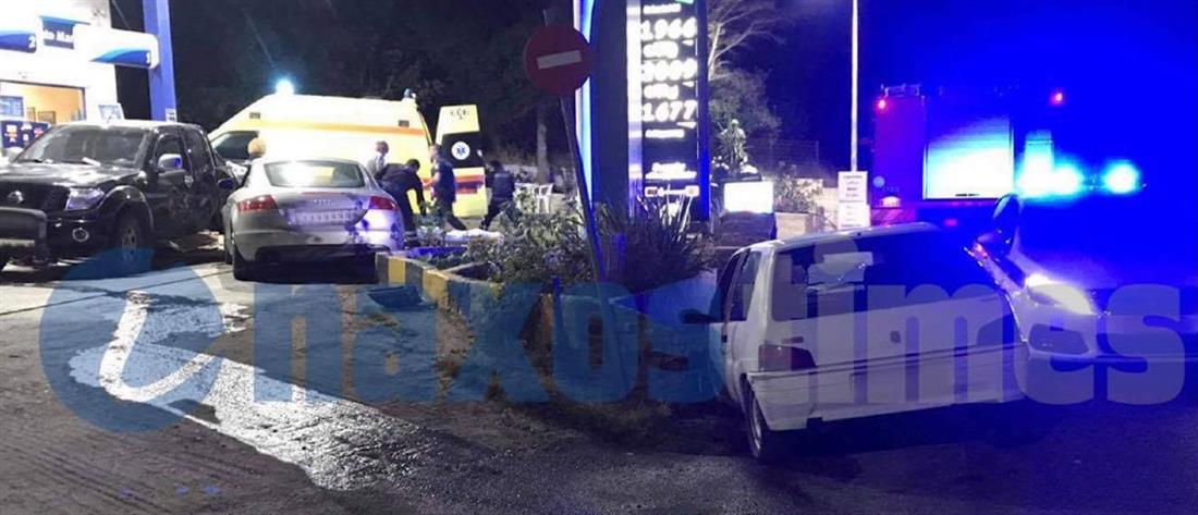 Νάξος: Σοβαρό τροχαίο έξω από βενζινάδικο