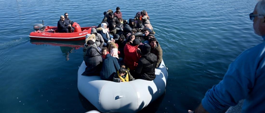 Σε καραντίνα πρόσφυγες και μετανάστες που έφτασαν στην Λέσβο
