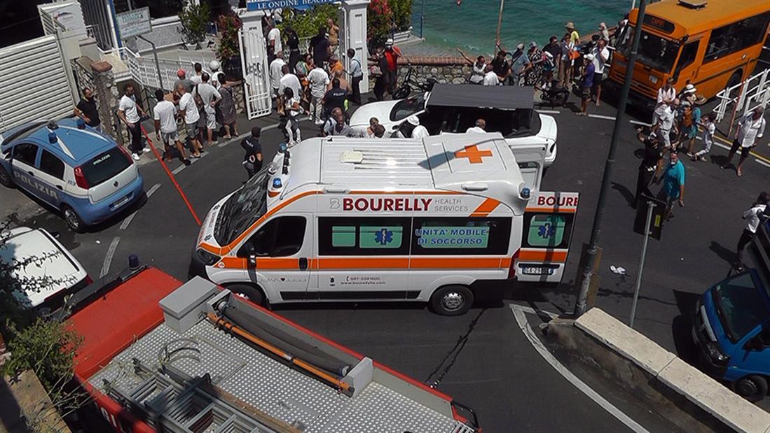 Ιταλία - λεωφορείο - έπεσε σε χαράδρα