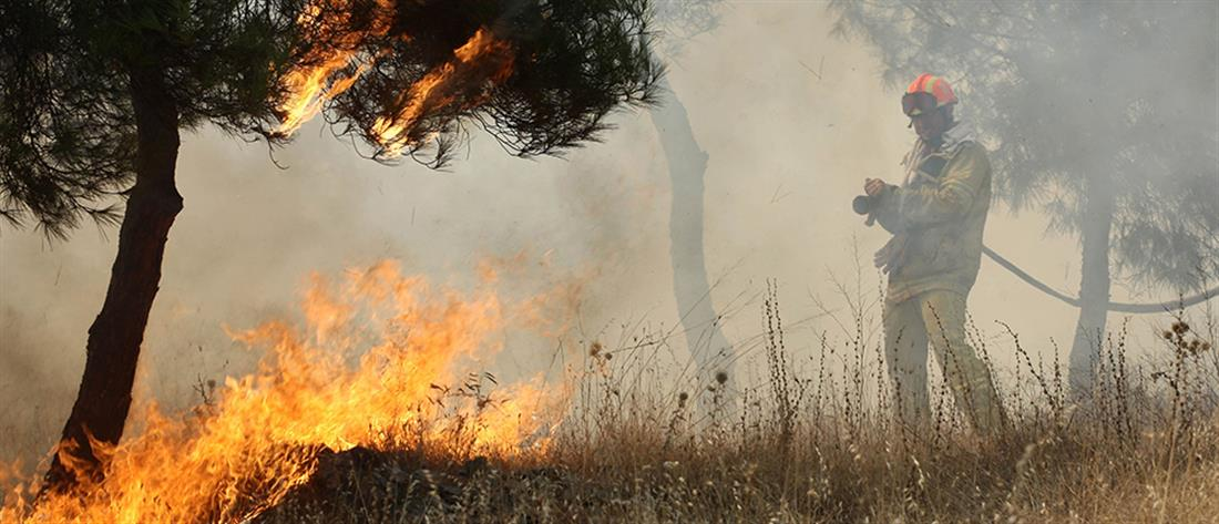 Φωτιά στον Ασπρόπυργο