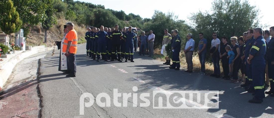Αρτέμιδα: Συγκίνηση στο μνημόσυνο για τους πυροσβέστες που χάθηκαν στις φωτιές του 2007 (εικόνες)