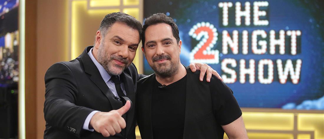 """Απολαυστικός ο Μάκης Δημάκης στο """"The 2night Show"""" (βίντεο)"""