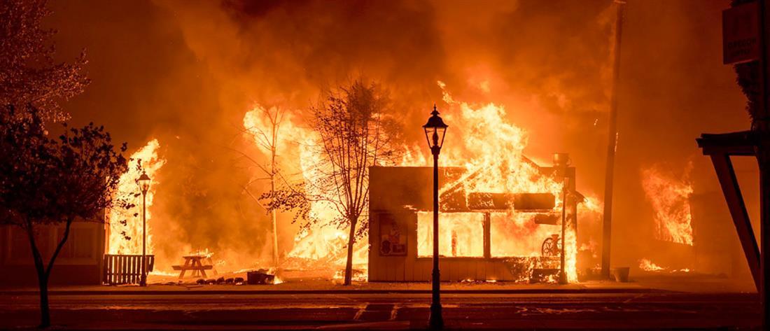 """ΗΠΑ: """"κρανίου τόπος"""" το Όρεγκον μετά τις φονικές πυρκαγιές"""