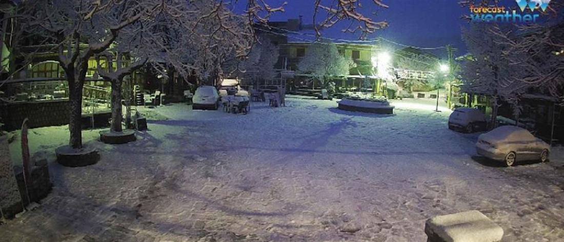 Χιόνια στη βόρεια Ελλάδα (εικόνες)