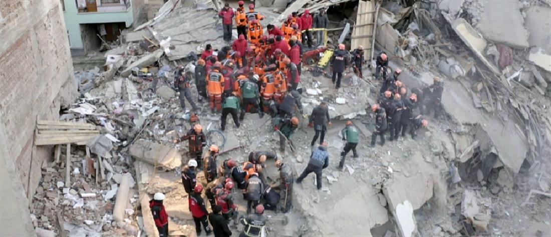 Σεισμός στην Τουρκία: δεκάδες νεκροί και εγκλωβισμένοι στα χαλάσματα