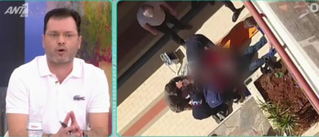 Γλυφάδα: Ηλικιωμένος έπεσε από τον 2ο όροφο εμπορικού κέντρου (αποκλειστικό βίντεο)