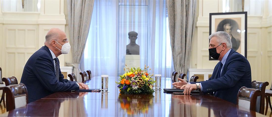 Νίκος Δένδιας - εκπροσώποι Κοινοβουλευτικών Κομμάτων