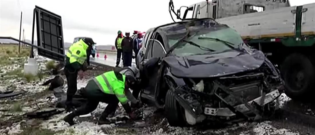 Νεκρός ποδοσφαιριστής σε τροχαίο (βίντεο)