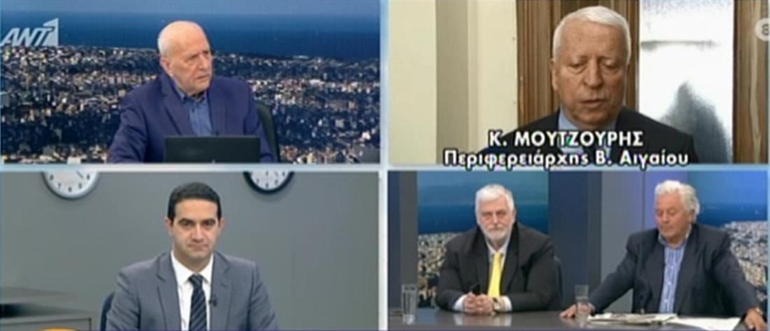 Μουτζούρης στον ΑΝΤ1: χάσαμε την εμπιστοσύνη μας στην κυβέρνηση (βίντεο)