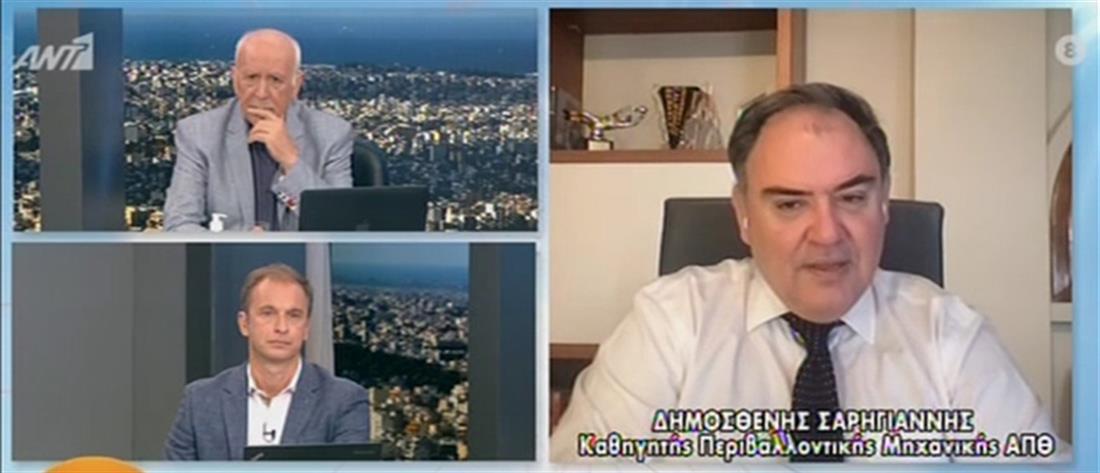Κορονοϊός - Σαρηγιάννης στον ΑΝΤ1: οδεύουμε σε τριψήφιο αριθμό κρουσμάτων (βίντεο)