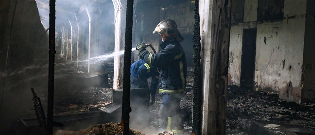 Καισαριανή: Φωτιά στο Άλσος